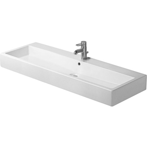 Duravit 04541200261 Vero Vessel Ceramic Bathroom Sink White Alpin