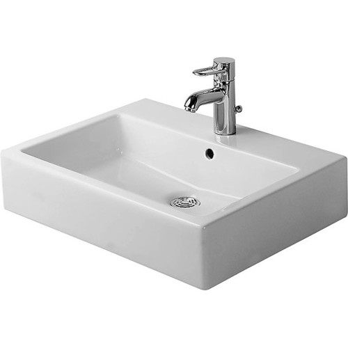 Duravit 04546008001 Vero Vessel Ceramic Bathroom Sink Black