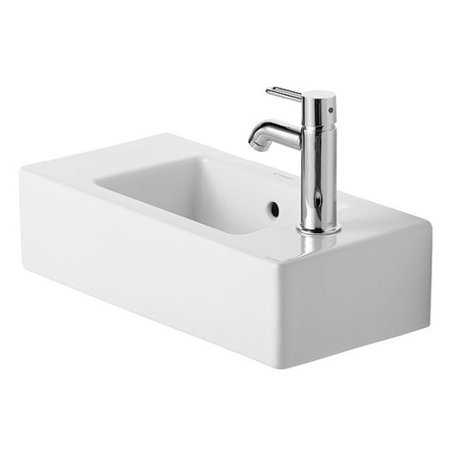 Duravit 07035000001 Vero Vessel Ceramic Bathroom Sink White Alpin