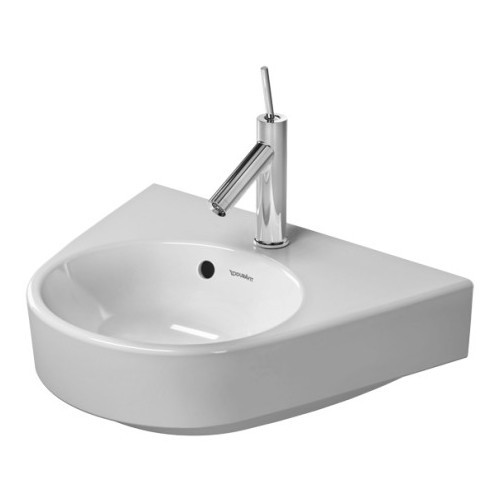 Duravit 07145000001 Starck Wall Mount Porcelain Bathroom Sink White Alpin