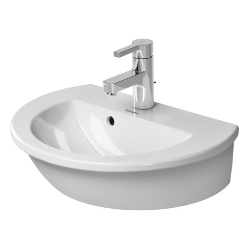 Duravit 07314700001 Darling New Wall Mount Porcelain Bathroom Sink White Alpin