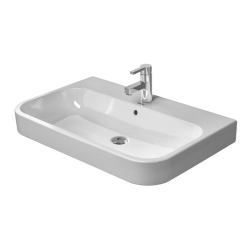 Duravit 23186500251 Happy D Wall Mount Porcelain Bathroom Sink White Alpin