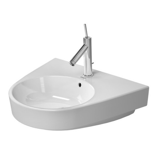 Duravit 2323600027 Starck Wall Mount Porcelain Bathroom Sink White Alpin