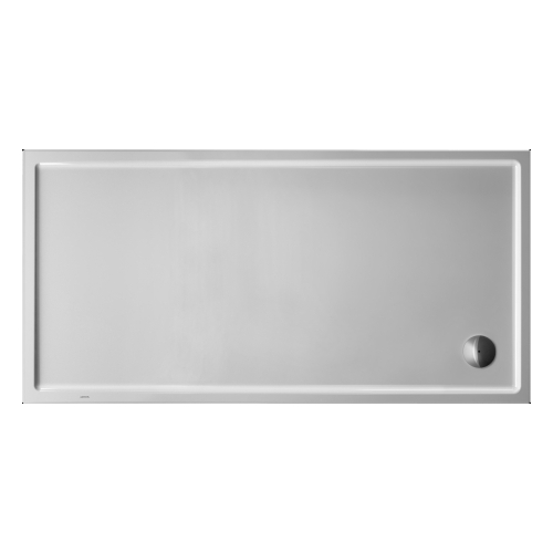 Duravit 720134000000090 Starck Shower Basin White Alpin