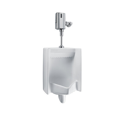 Toto UT445U#01 Vitreous China Vitreous China Urinal Cotton White