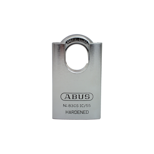 Abus Lock 83CS/45-300-OB SHROUDED BRASS PADLOCK 1-3/4IN W - SC1