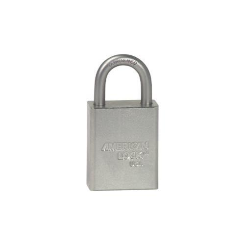 American Lock A1105KD CLR SAFETY PADLOCK 1IN SHACKLE SILVER KD