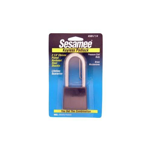 CCL Security Products K500-214 SESAMEE BLACK PADLOCK