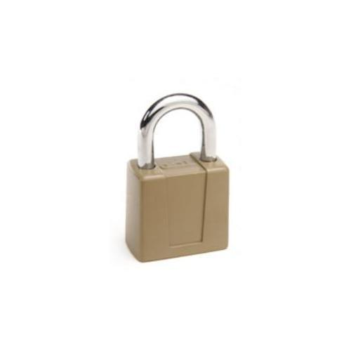 CCL Security Products 66R-KD DISC TUMBTER PADLOCK WITH TAG-KD 2 3/4