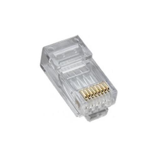 PLATINUM TOOLS 106168J RJ45 CAT5E HP ROUND-SOLID 100PC JAR