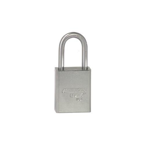 American Lock A1106KD CLR SAFETY PADLOCK 1-1/2IN SHACKLE SILVER KD
