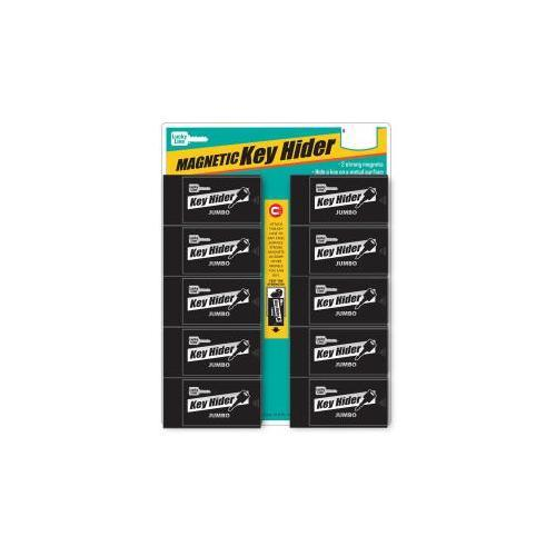 Luckyline Products 91510 JUMBO MAGNETIC KEY HIDER DISPLAY 10/CD