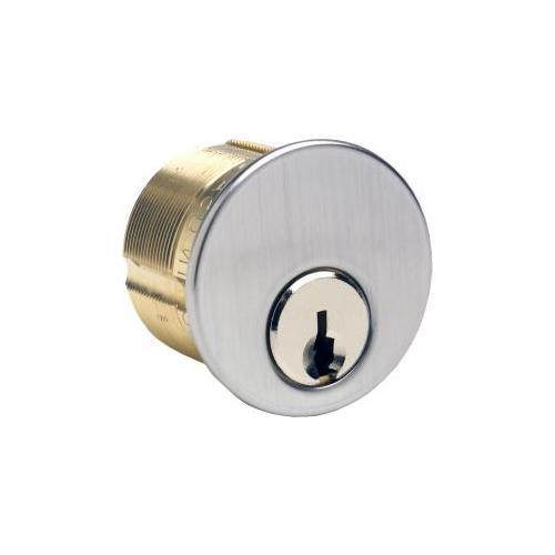 Gms Industries M118AST26DATNK-6 MORTISE CYLINDER 1-1/8IN 6P ASSA T-6000