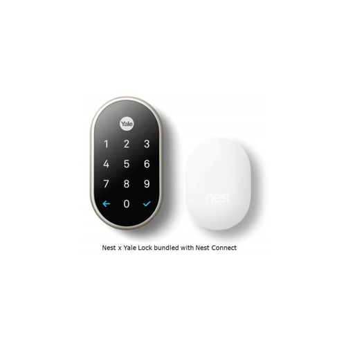 YALE RESIDENTIAL RB-YRD540-WV-US15 KEY FREE TOUCHSCREEN DEADBOLT W/ NEST