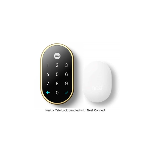 YALE RESIDENTIAL RB-YRD540-WV-US3 KEY FREE TOUCHSCREEN DEADBOLT W/NEST