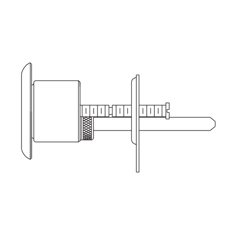 Schlage 26 072c 118 626 Lock Mortise Cylinder