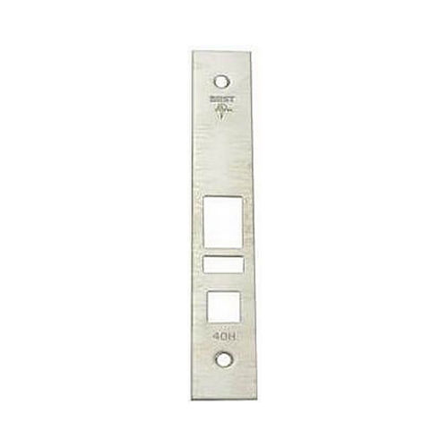 Best 40HFP2626 Mortise Faceplate Kit for A Function Satin Chrome Finish