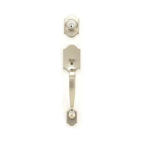 MaxGrade 800EDE15 Eden Active Single Cylinder Exterior Handleset Satin Nickel Finish