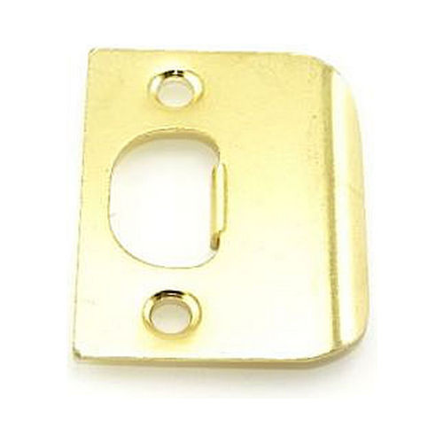 MaxGrade 91023 Square Full Lip Strike Bright Brass Finish