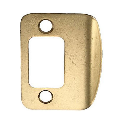 MaxGrade 91033 Radius Full Lip Strike Bright Brass Finish