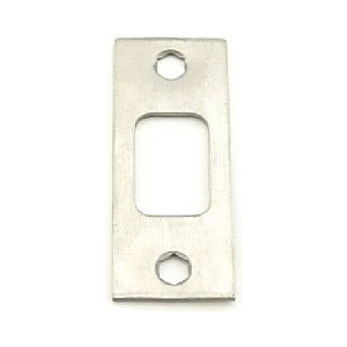 MaxGrade 911115 Square Deadbolt Strike Satin Nickel Finish