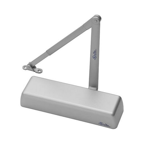 Yale Commercial 5801689 Non Hold Open Tri Mount Door Closer Aluminum Finish