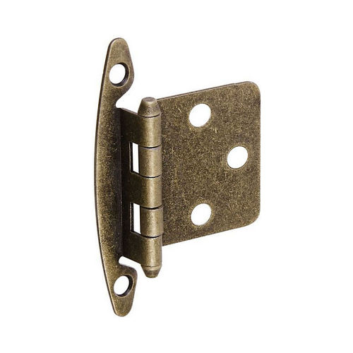 National Hardware BB8196AB Flush Cabinet Hinge S826-305 Antique Brass Finish