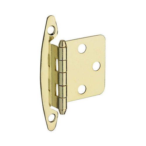 National Hardware BB8196BRS Flush Cabinet Hinge Brass Finish