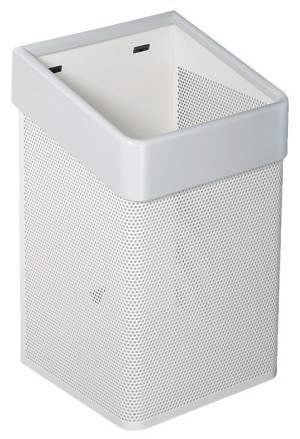 Hafele 988.99.292 Waste Basket, Free Standing or Wall Mounted