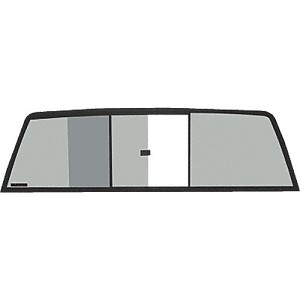 CRL TRV935S Tri-Vent Three Panel Slider with Solar Glass