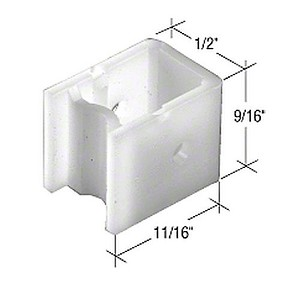 CRL FS107B Window Channel Balance Top Guides - Bulk 50 Pack