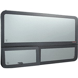 CRL FW601 2003, 2006 'All-Glass' Look Sprinter Van Driver Side Forward Window Long or Short Wheel Base