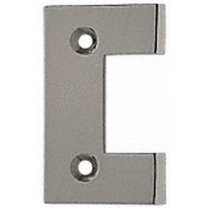 CRL G2BN Geneva Series Standard Cover Plate for the Door Side, Brushed Nickel