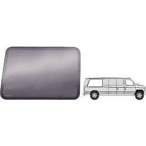 "CRL FW422R Fixed All Glass Look Window, Passenger Side Rear 1992+ Ford Vans 43-7/8"" x 28-5/8"""