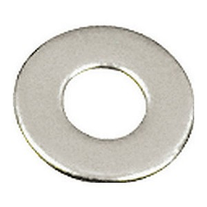 "CRL FW516S Stainless 5/16""-18 Flat Washers for 1-1/4"" Diameter Standoffs"