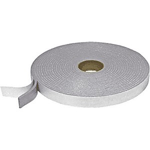 CRL FS22112 Adhesive Back Felt Tape, Gray