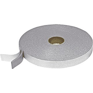 CRL FS222 Adhesive Back Felt Tape, Gray