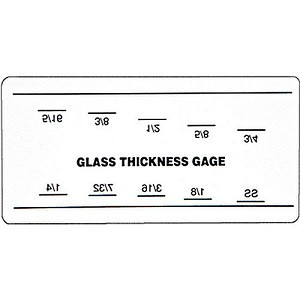 CRL G1340 Glass Thickness Gauge