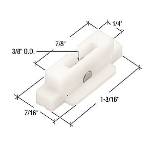 CRL G3012 Sliding Window Roller for Daryl Windows