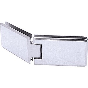 CRL GRA135CH Grande 135 Series Glass-to-Glass Hinge, Chrome