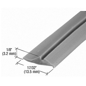 CRL GS231C Glazing Spline, 100' Roll, Gray