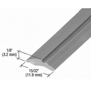 CRL GS232M Wide Glazing Spline, 1000' Roll, Gray