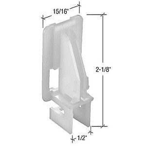 CRL FS104B Window Channel Balance Top Guides - Bulk 50 Pack