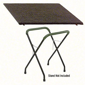 "CRL FWST Optional Carpeted Table Top Measures 24-1/2"" x 30-1/2"""