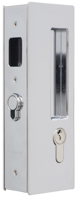 Cavity Sliders CL400C0236 Key Locking CP 34-40mm Doors, Oil Rubbed Chrome