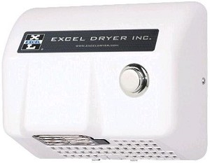 Excel Dryer HO-BL Push Button Hand Dryer
