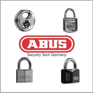 ABUS 83/50-300 S2 Solid Brass Rekeyable Padlock 3-1/2""