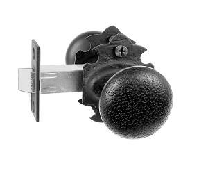 Acorn RT9BI Double Knob Privacy Set - Rough Iron
