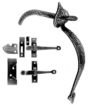 Acorn RUEBR Thumb Latch Combination of RU4BR & RU5BR