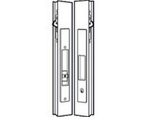 Adams Rite 4431-10-00-01-IB Flush Lockset Individually Bagged